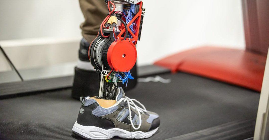Diseñan un nuevo prototipo robótico de prótesis de pierna más cómodo, potente y eficaz